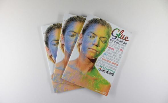Glue Magazine Covers